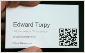 How To Make A Buisness Card Do Programmers Need Business Cards Edward Torpy