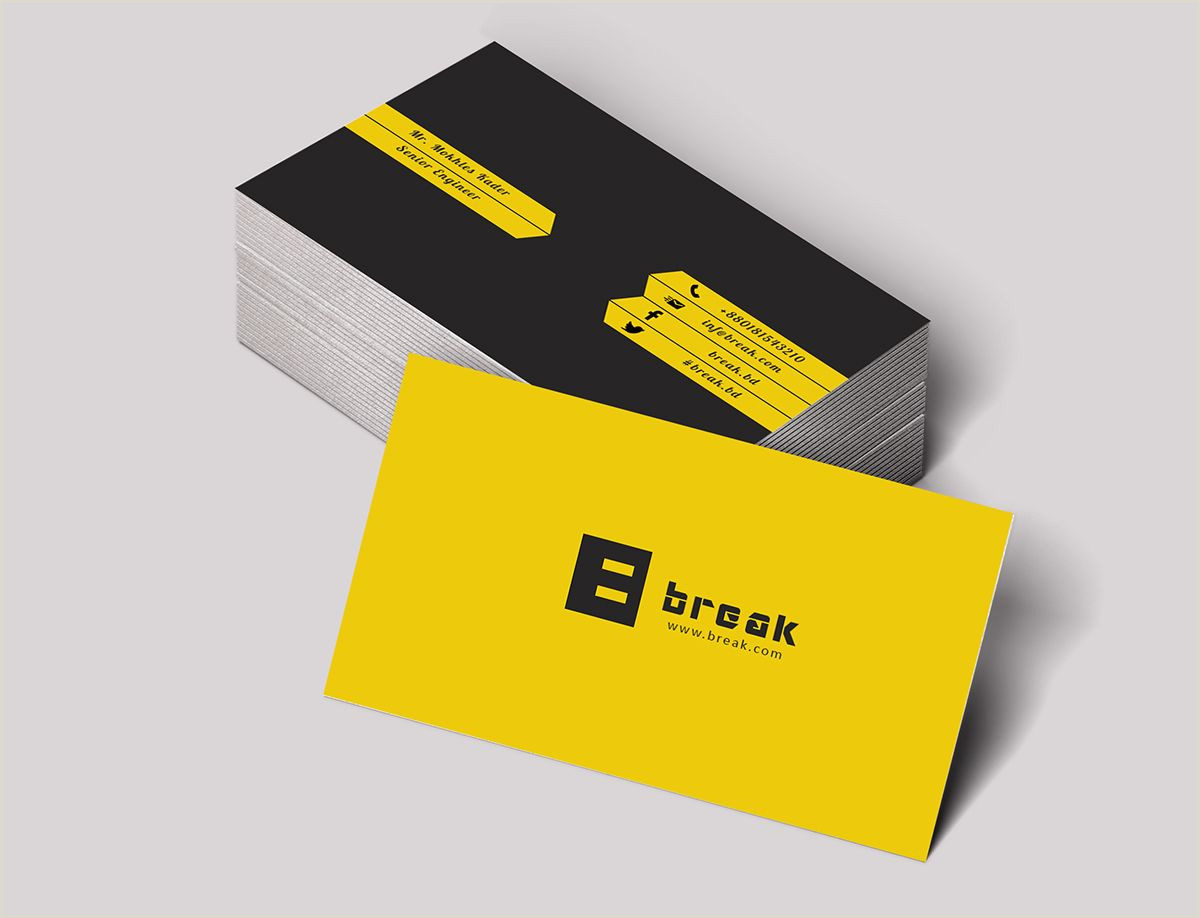 How To Make A Buisness Card Pin On Business Card Design
