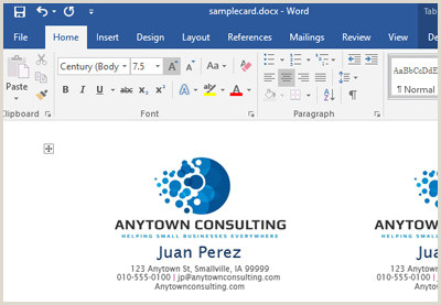 How To Make A Business Card In Word How To Make Your Own Business Cards In Word