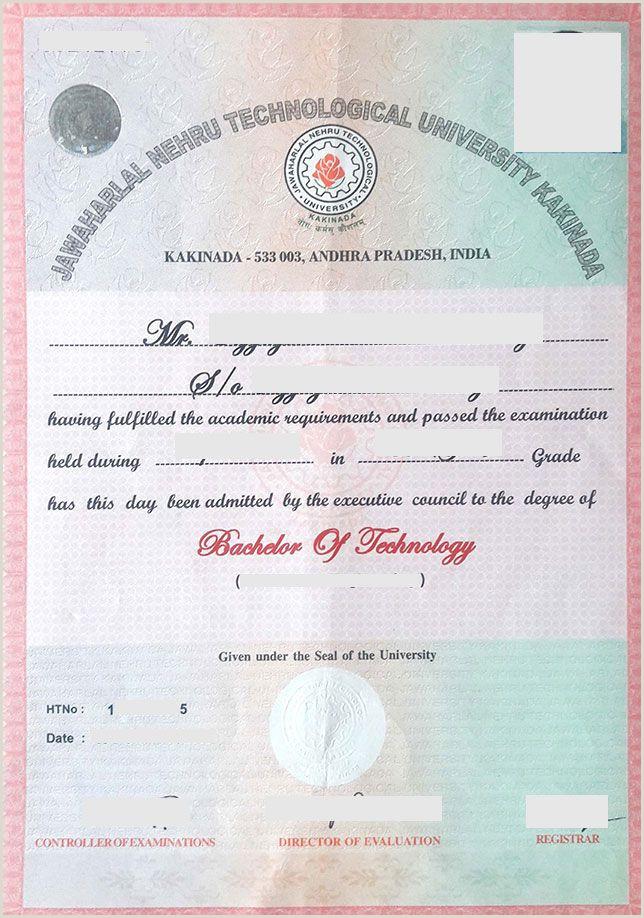 How To Make Calling Card Jntuk Original Degree Application Form 2020 Jntuk Od Apply
