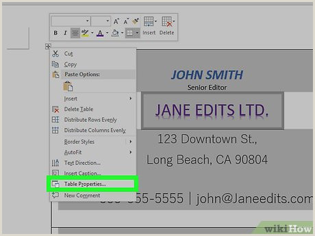 How To Make Front And Back Business Cards In Word How To Make Business Cards In Microsoft Word With