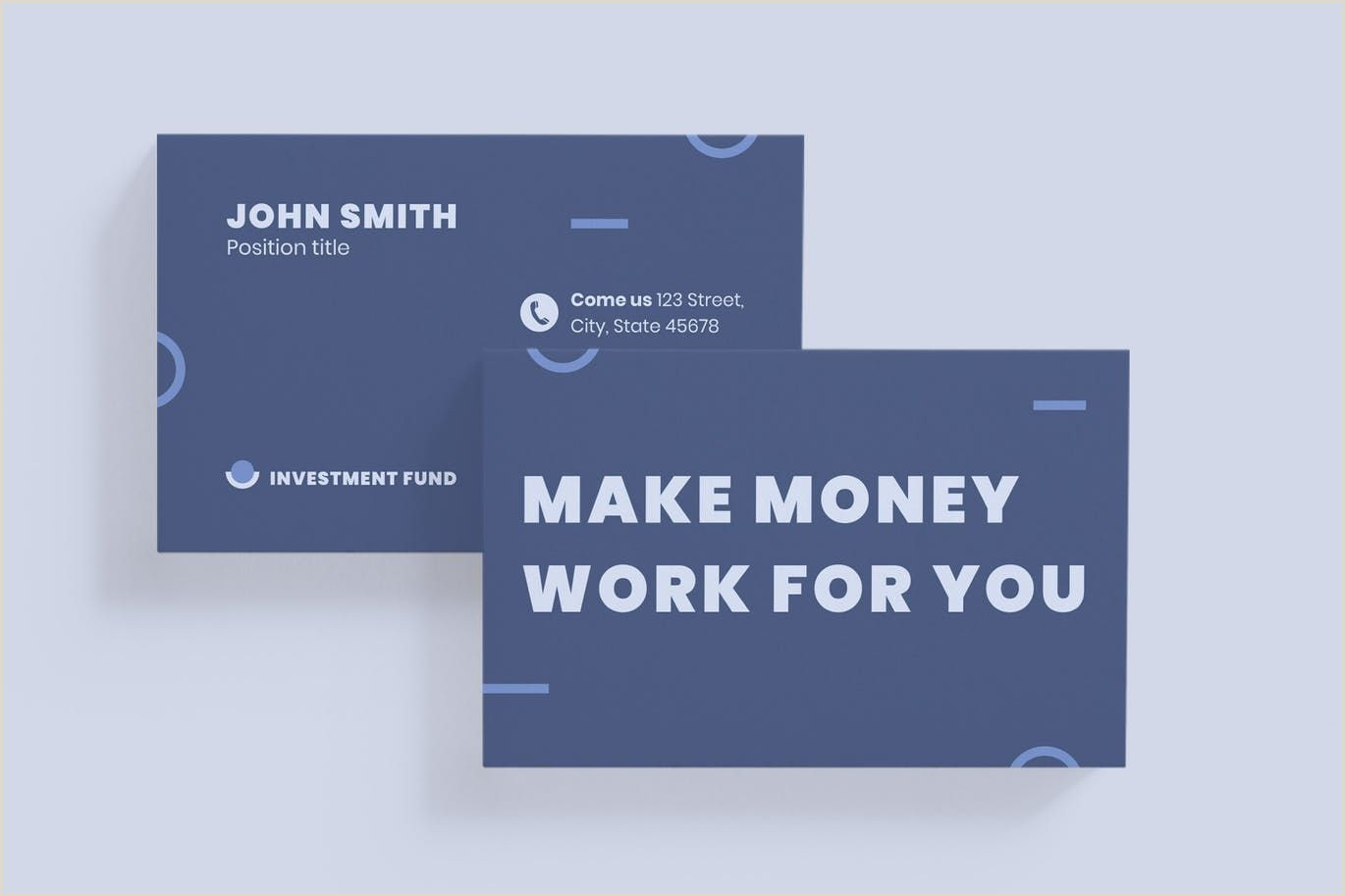 How To Make The Best Business Card Investment Fund Business Card By Ambergraphics On Envato