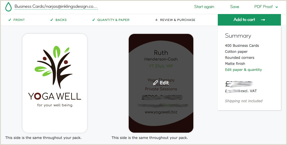 How To Upload Unique Backs To Business Cards On Moo Upload A Plete Business Card Design To Moo — Inklings