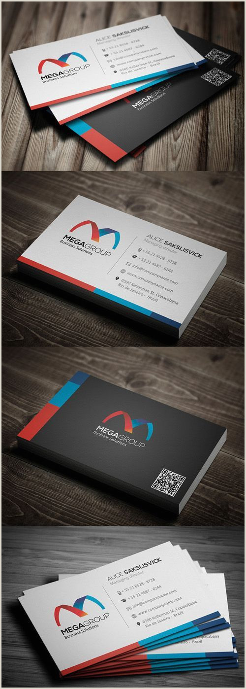 How Wide Is A Business Card 26 High Quality Modern Business Cards Design In 2020