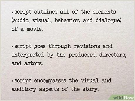 Idea Design Studio Success Stories 4 Ways To Write Movie Scripts Wikihow