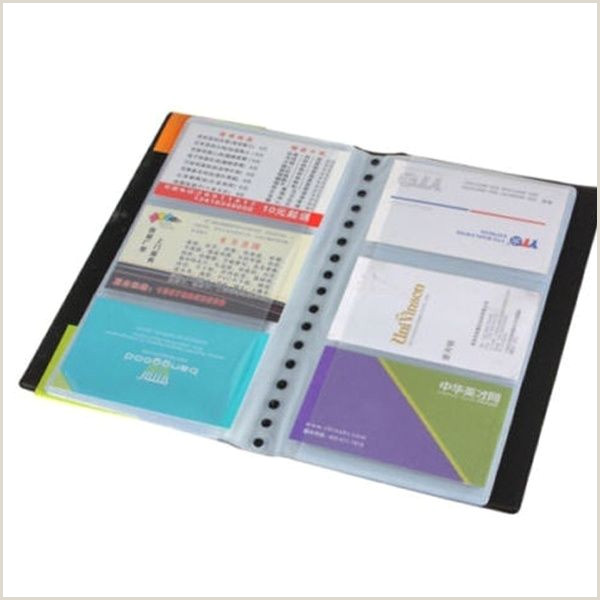 In Name Card Desk Accessories Fice Leather Business Cards Holder Case