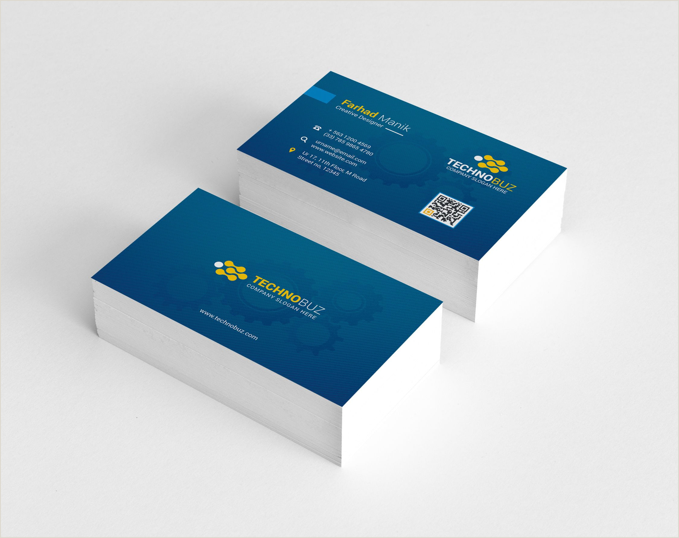 In Store Business Card Printing Kentucky Elegant Corporate Business Card Template Graphic