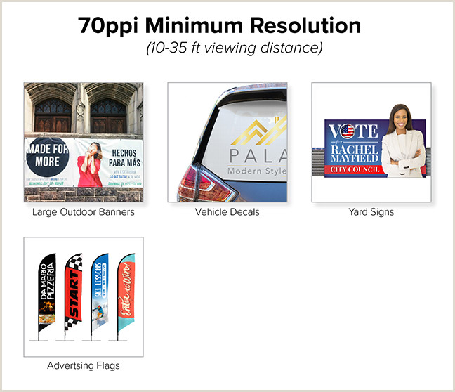 In Store Business Card Printing The Best Resolution For Printing S Banners Signs And