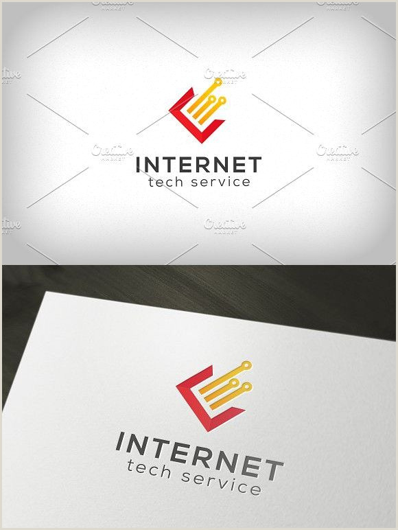 Industry Business Card Digital Services Logo