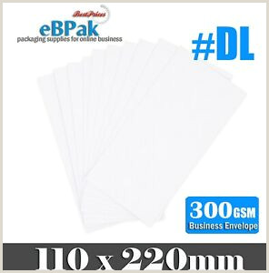 Info On A Business Card Details About 200x Card Mailer 0d Dl 220x110mm 300gsm Business Envelope Tough Bag Replacement