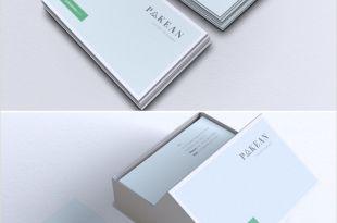Info On A Business Card Minimalist Business Card Vol 02