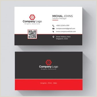 Info On Business Card Professional Business Card Mockup In 2020