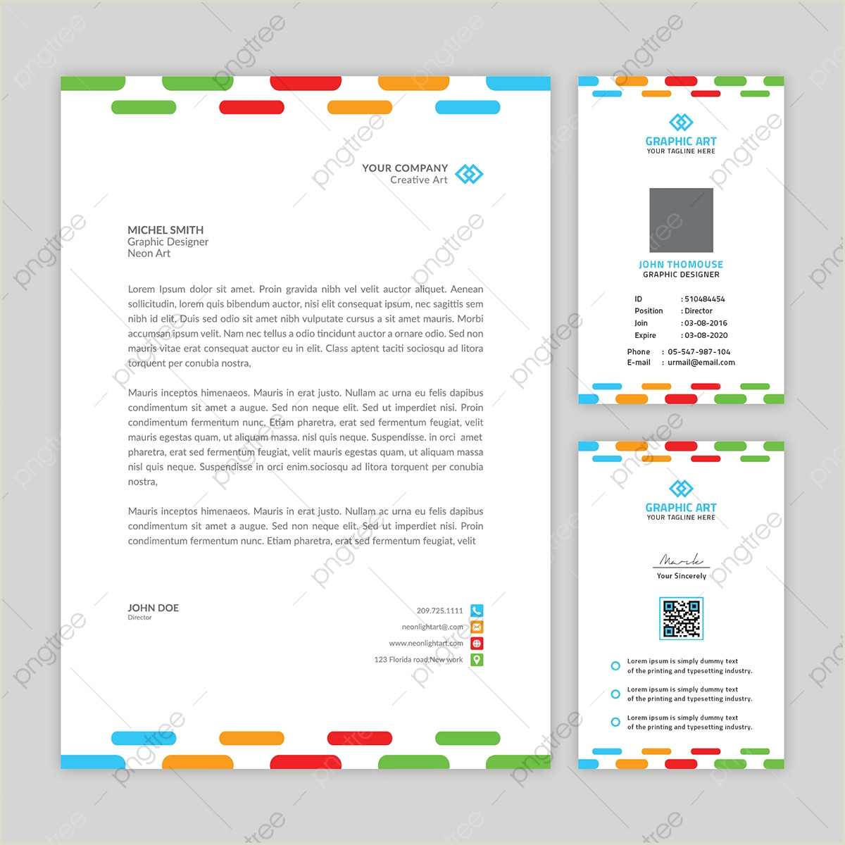 Information Card Template Id Card Template Vector Psd And Clipart With