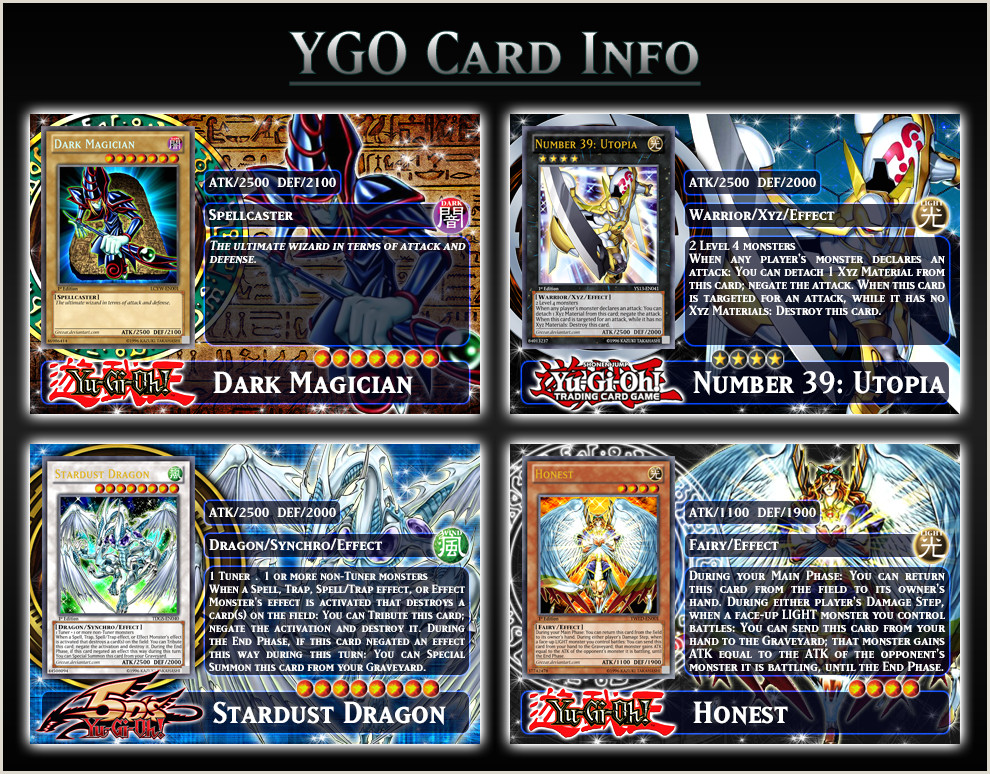 Information Card Template Ygo Card Info Template By Grezar On Deviantart