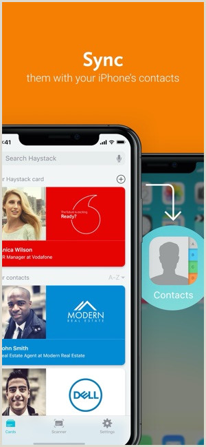 Information To Put On Business Cards Haystack Business Cards On The App Store