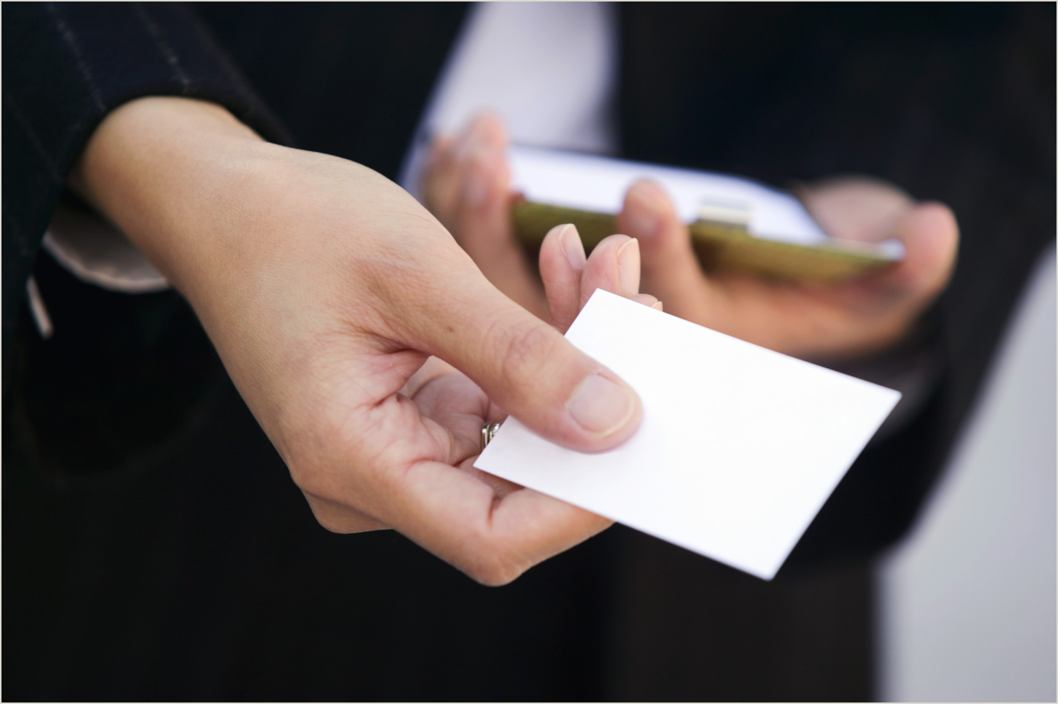 Information To Put On Business Cards How To Write An Address On A Business Card