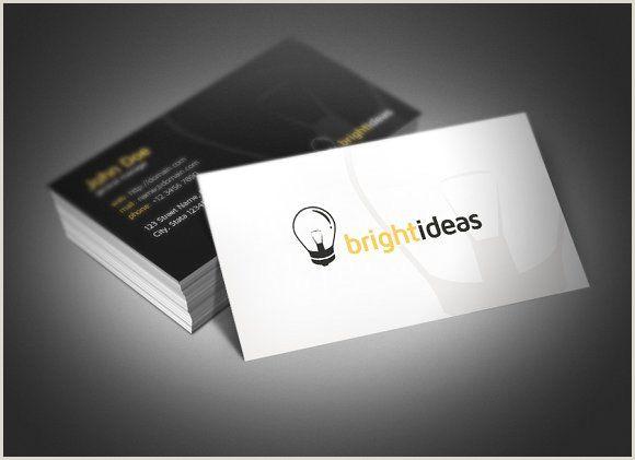 Innovative Business Card Bright Ideas Business Card