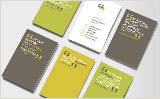 Inspirational Quotes For Business Cards You Can Quote Me