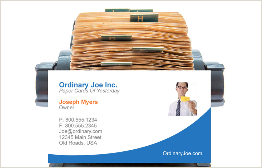 Interactive Business Cards Digital Business Cards For IPhone And Android