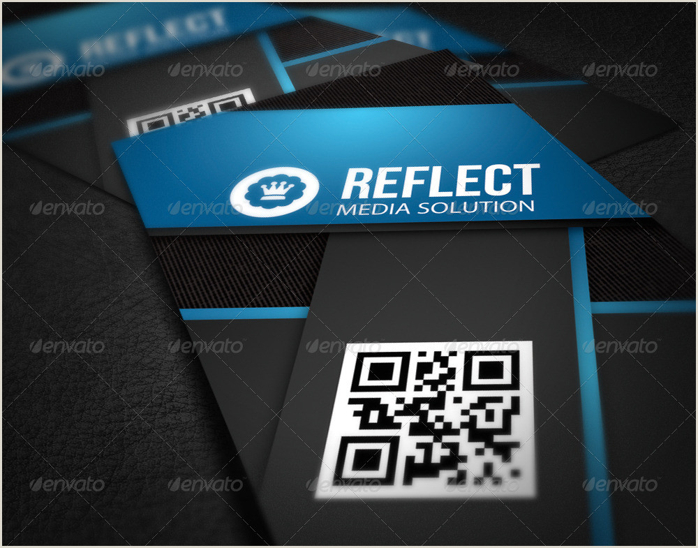 Interactive Business Cards Information Technology Business Card