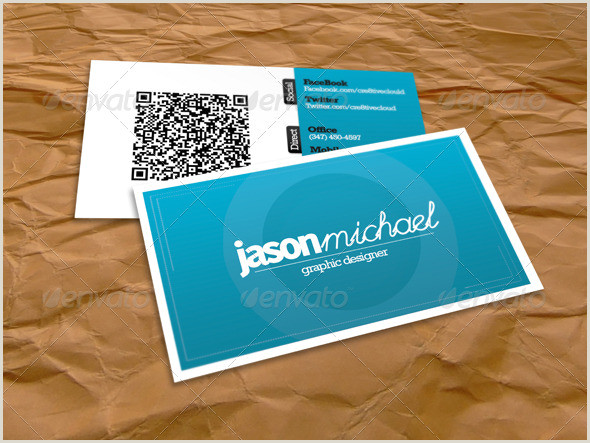 Investor Carrot Best Business Cards 25 Impressive Examples Of Qr Code Business Cards