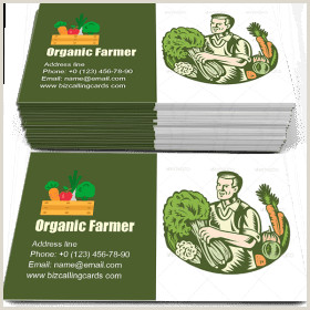 Investor Carrot Best Business Cards ✅ Business Card Examples For Create Custom Design