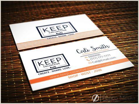 Keep Collective Business Card Template Custom Keep Collective Business Card Design 5 Keep