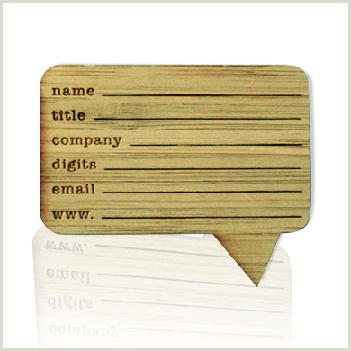 Laser Cut Business Cards Online Customized Laser Cut Business Cards