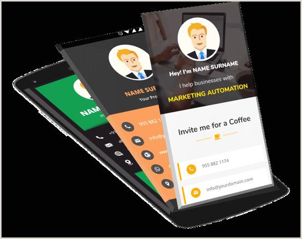 Make Business Card Digital Business Card Make My Vcard
