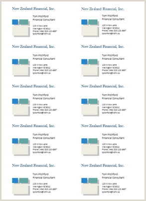 Make Business Card In Word How To Make Business Cards In Microsoft Word