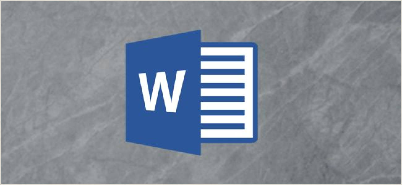 Make Business Cards On Word How To Design Business Cards Using Microsoft Word