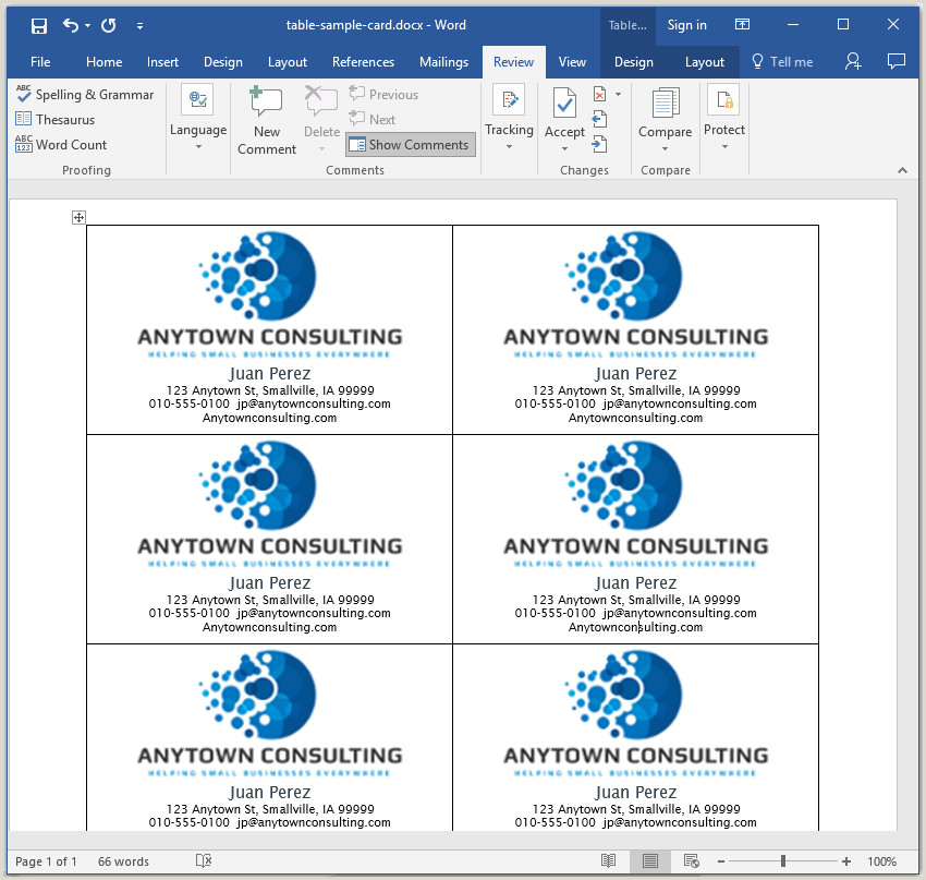 Make Business Cards On Word How To Make Your Own Business Cards In Word