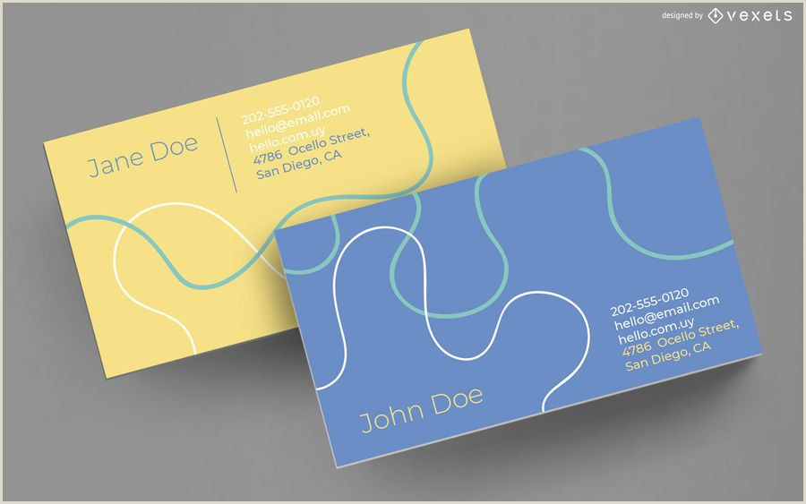 Make My Own Business Card Abstract Lines Business Card Design Ad Aff Sponsored