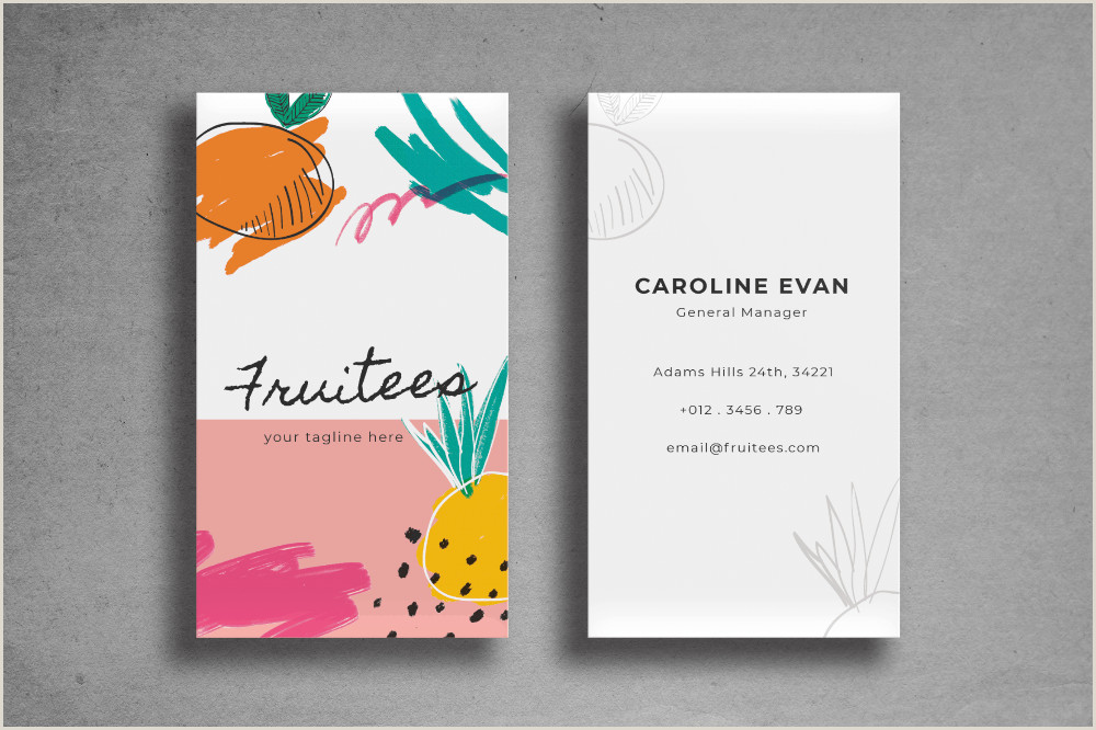 Make Personal Business Cards Business Card – Fresh Template In 2020