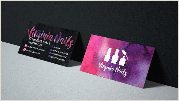 Makeup Artist Business Cards Examples 15 Makeup Artist Business Cards In Psd Vector Eps Ai