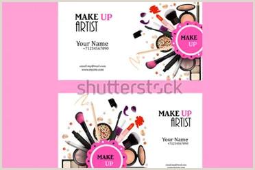 Makeup Artist Business Cards Examples 40 Makeup Artist Business Card Templates Free Psd Designs