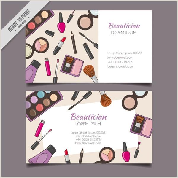 Makeup Artist Business Cards Examples 54 Makeup Artist Business Cards Free & Premium Psd Ai