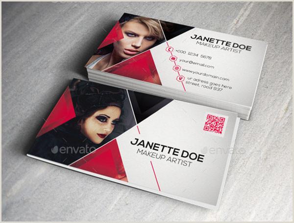 Makeup Business Card Ideas 54 Makeup Artist Business Cards Free & Premium Psd Ai