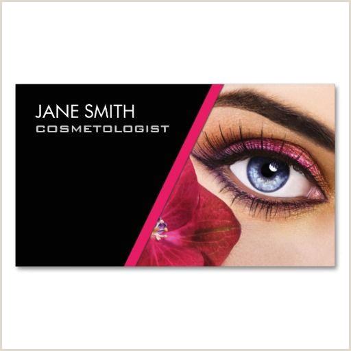 Makeup Business Card Ideas Makeup Artist Cosmetologist Cosmetology Elegant Business