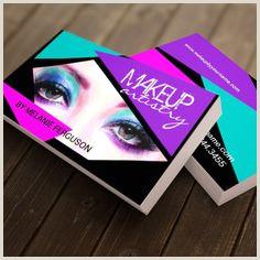 Makeup Business Cards Examples 10 Best Makeup Artist Business Card Images