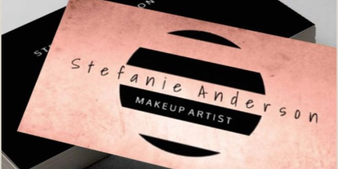 Makeup Business Cards Examples 100 Makeup Artist Business Cards Ideas In 2020