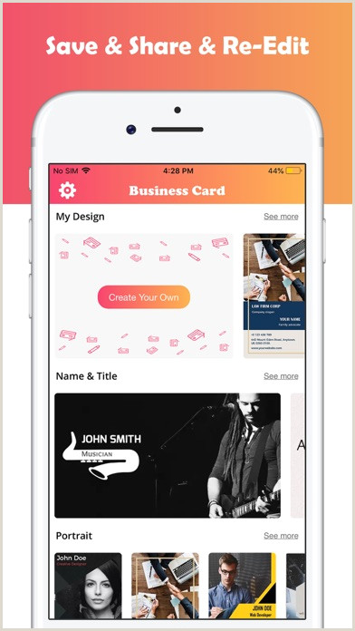 Making Buisness Cards Business Card Maker Designer By Bhavesh Gabani Ios
