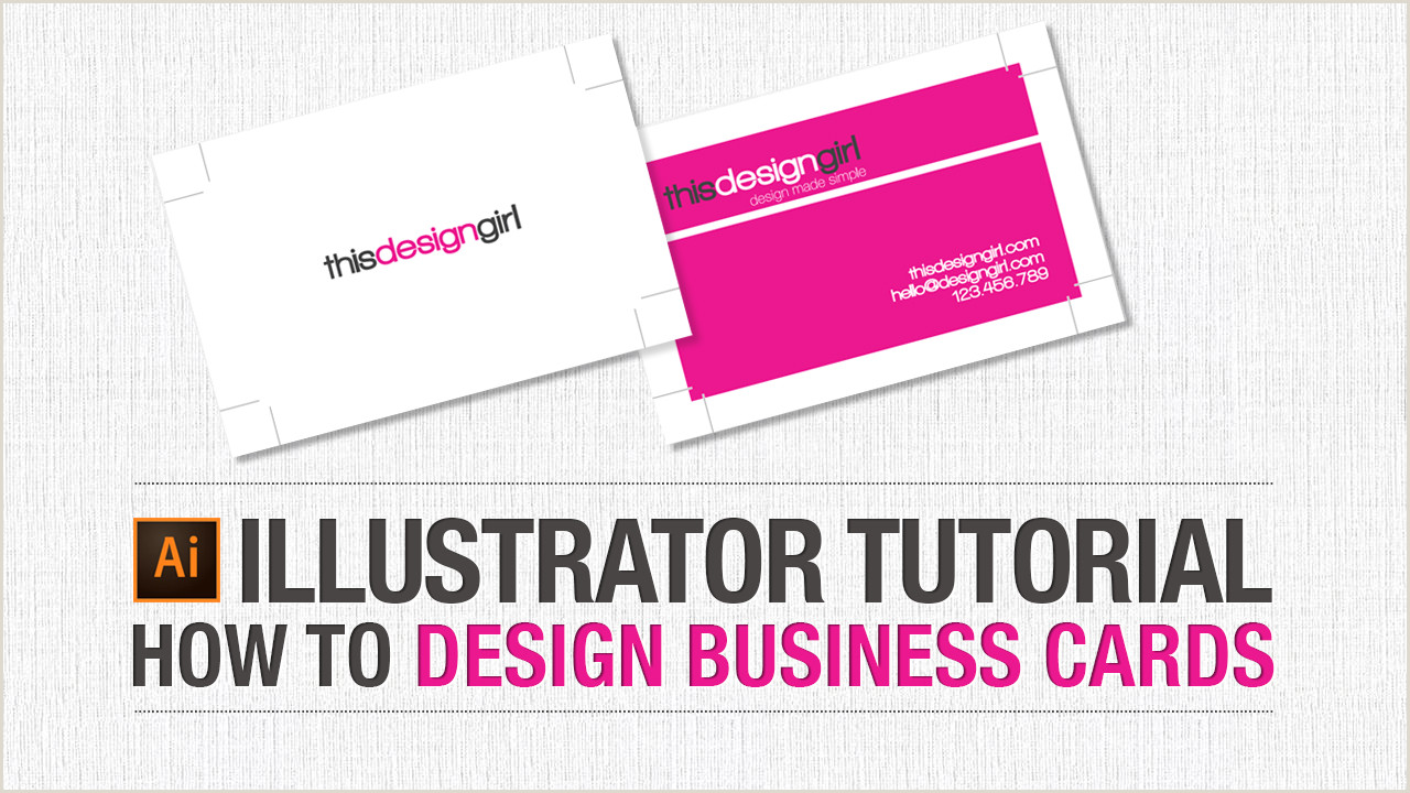Making Business Cards In Illustrator How To Design Business Cards Downloadable Template