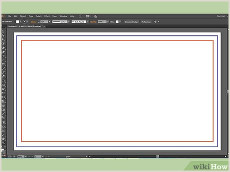 Making Business Cards In Illustrator How To Make A Business Card On Adobe Illustrator 10 Steps