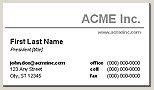 Making Business Cards In Word Free Business Card Templates For Microsoft Word