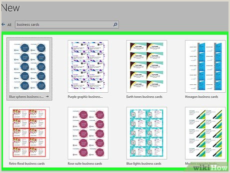 Making Business Cards In Word How To Make Business Cards In Microsoft Word With