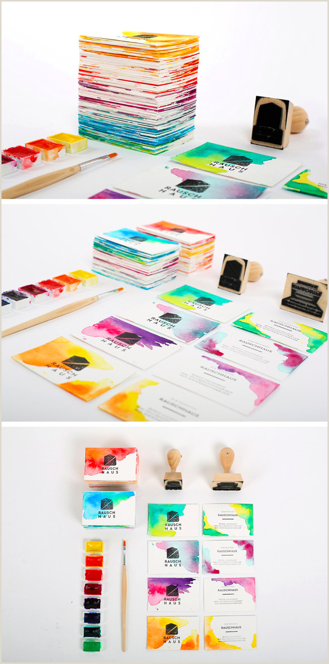 Making Own Business Cards 6 Super Easy Ways To Create Handmade Diy Business Cards