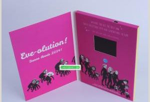 Manufacturer Business Cards Promotional Business Card 2 4 Inch Lcd Card Video Brochure