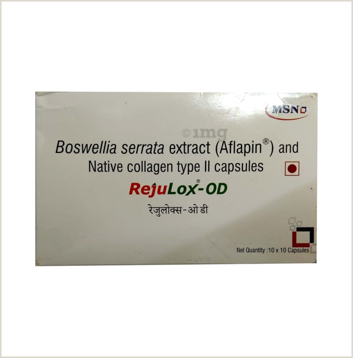 Manufacturer Business Cards Rejulox Od Capsule