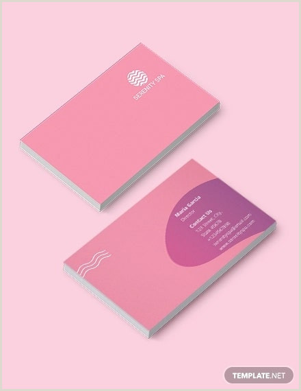 Massage Therapy Business Cards Unique 10 Massage Business Card Templates In Word Pages Psd